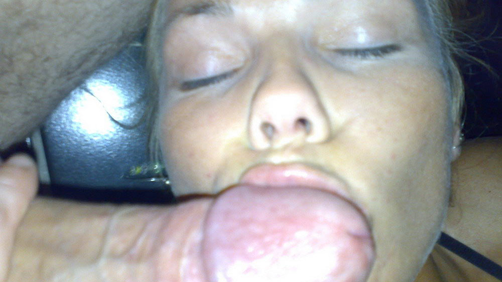 Wife sucks dick at party