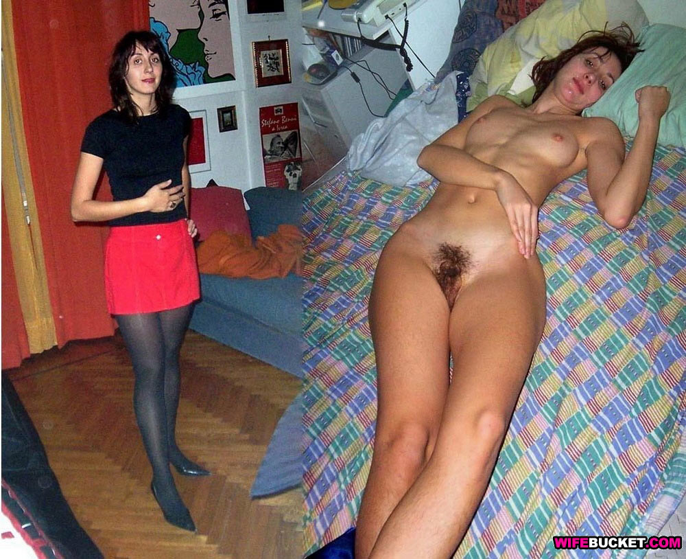 Are Milf nude wife before after excited