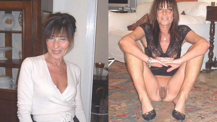 Undressed sex Mature milf