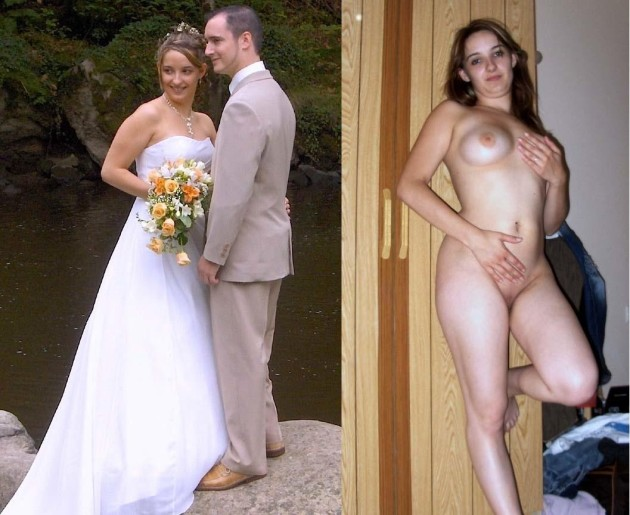Before-after nudes from the honeymoon