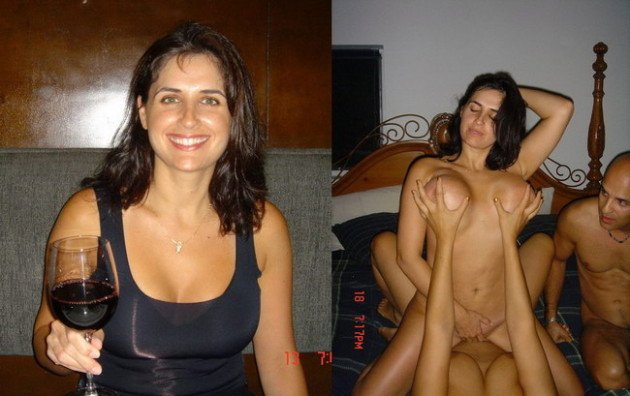 before after sex pic of a real milf