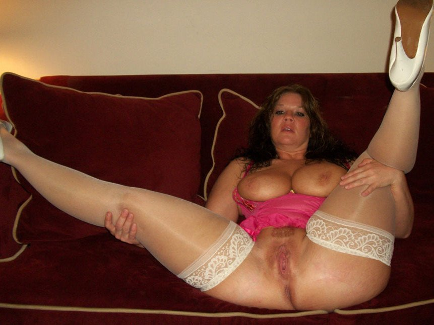 wife in lingerie