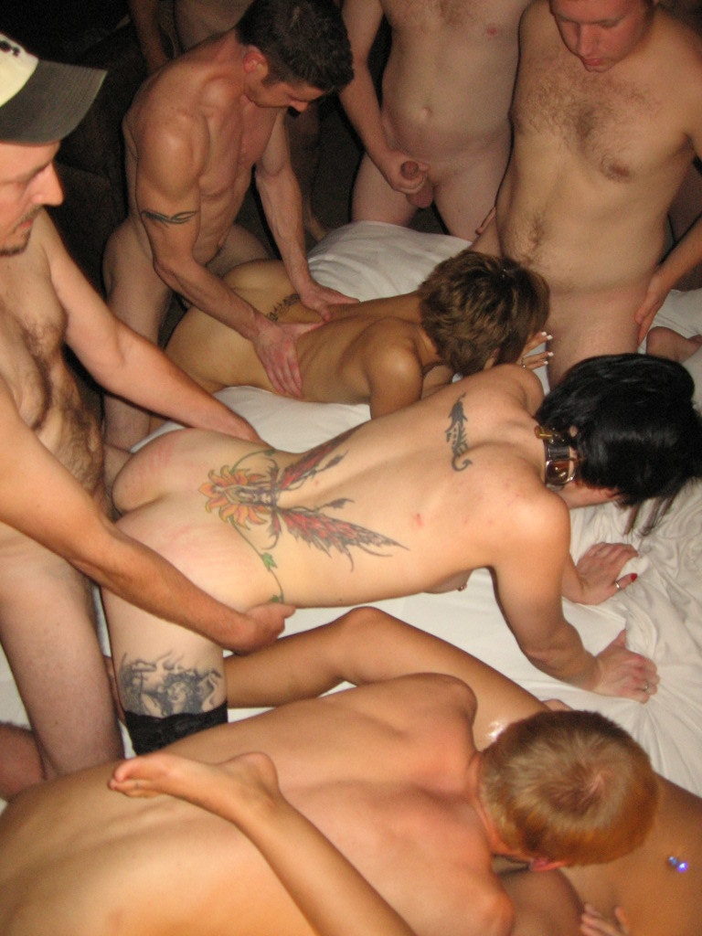 Amateur group sex parties