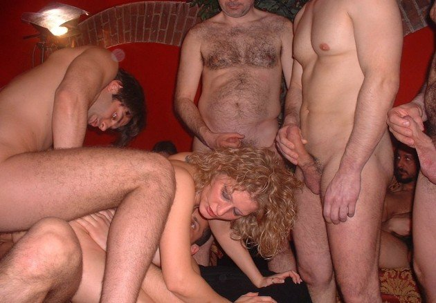 image Slutty wife getting it hard from two black dudes