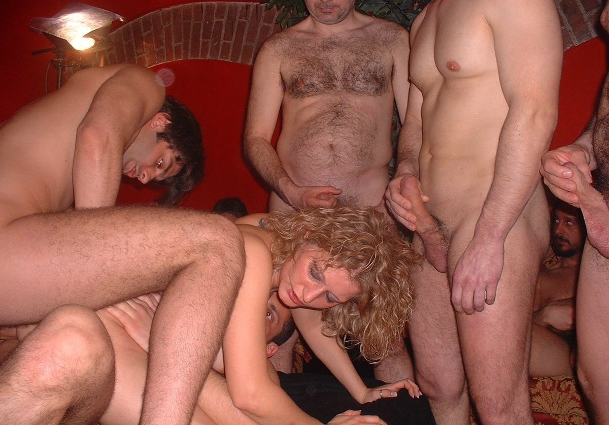 Cock not real amateur gang bang video has