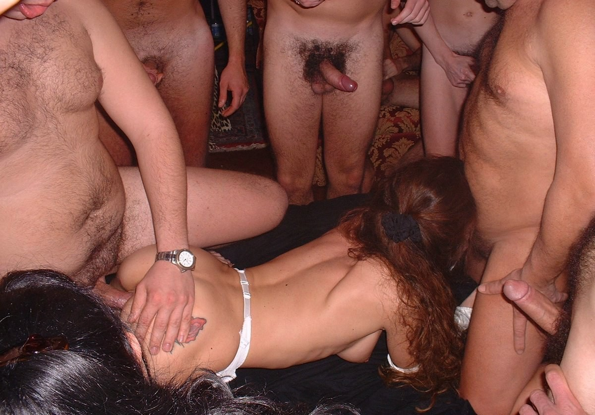 Nice drunk milfs gang banged