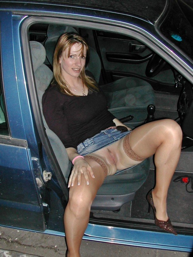 Amateur public dogging