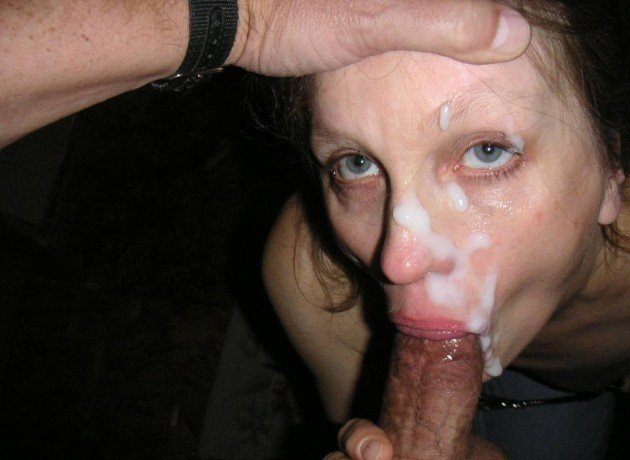Keeps on sucking after the facial