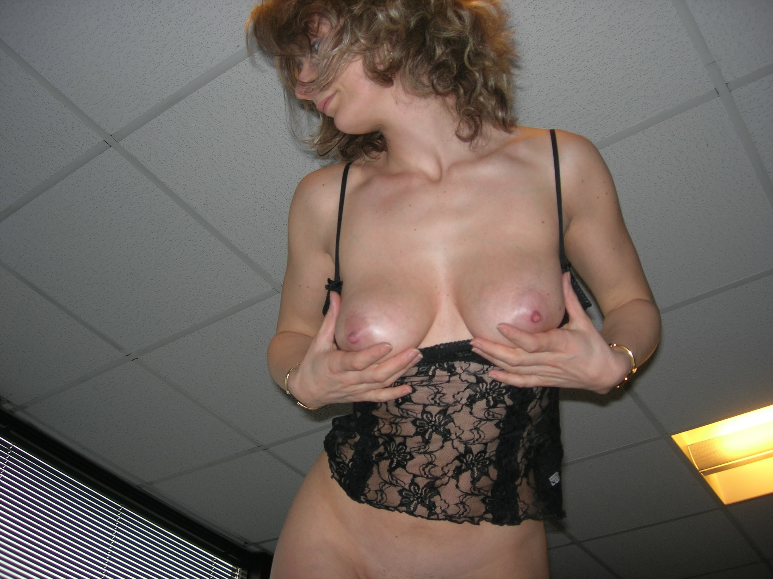 Girls flashing boobs at work tumblr