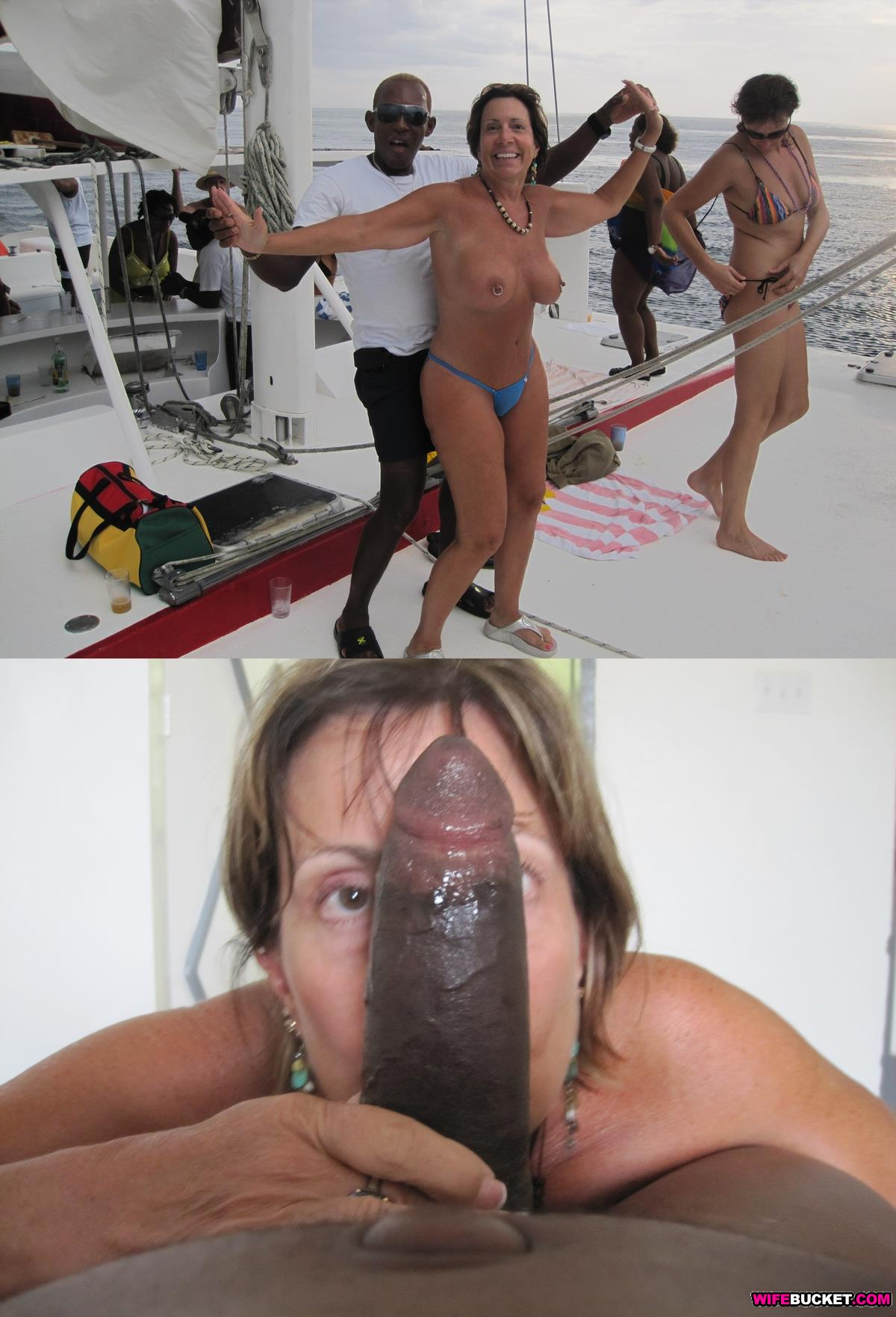 Pussies before and after black cock