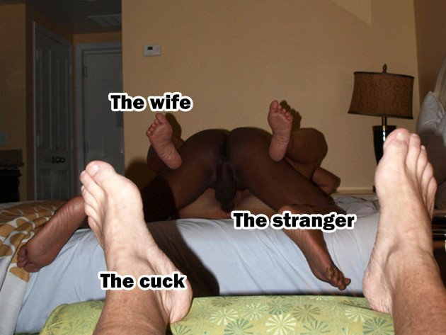 Cuckolding guy watches his cheating wife