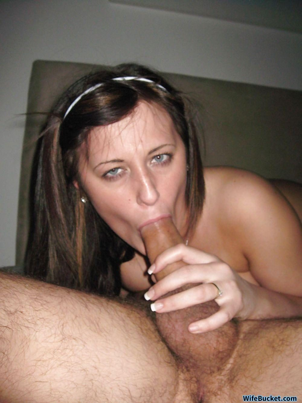 Excited too Wifes girlfriend birthday blowjob
