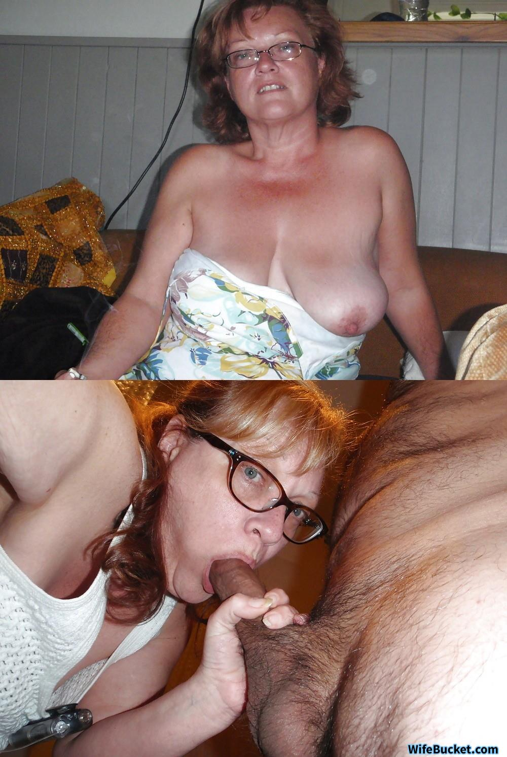 Genuine cheating slut mum boned in both holes
