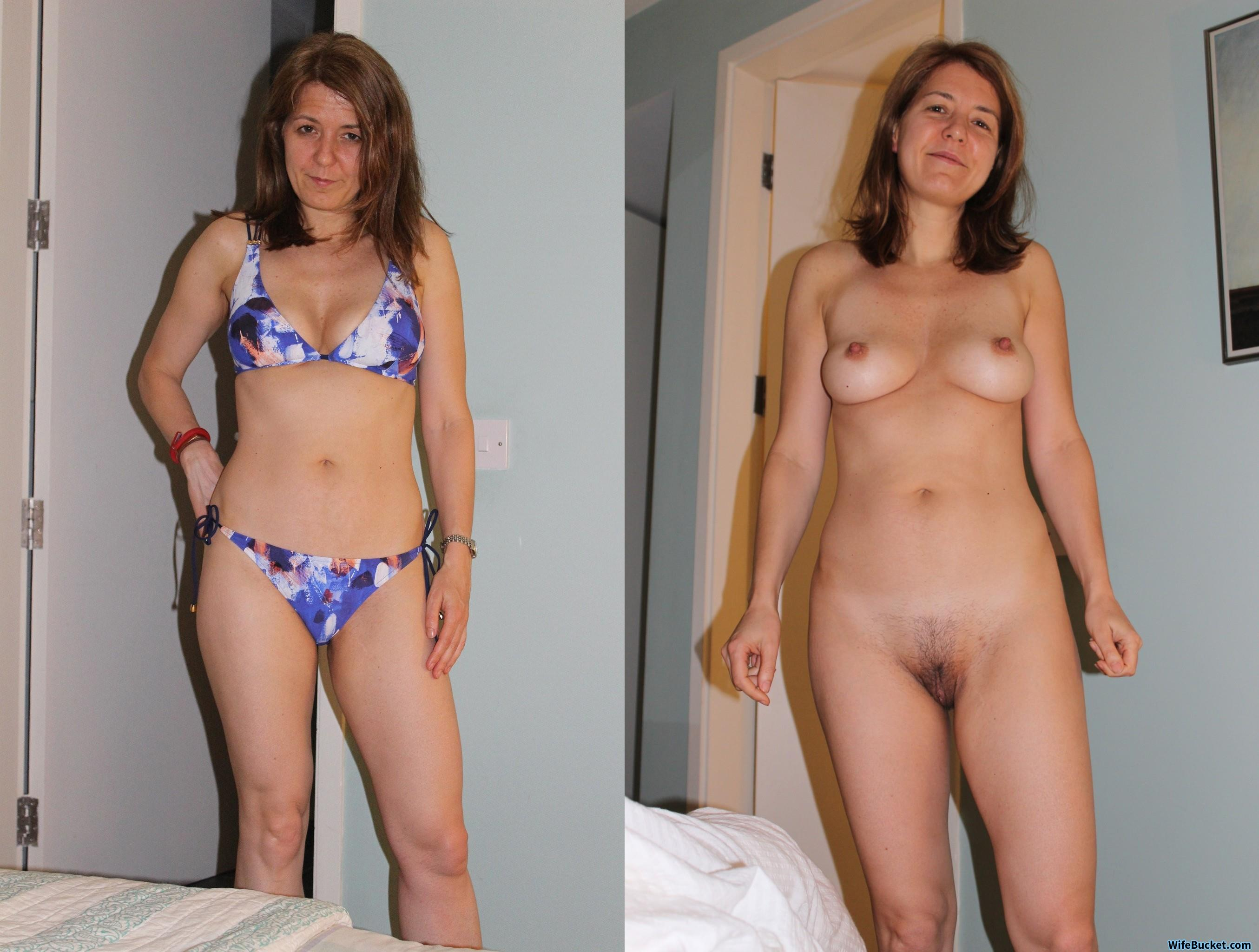 Milf Dressed Naked