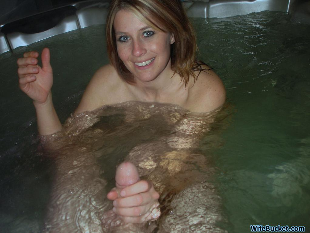 Your Mature wife handjob on vacation