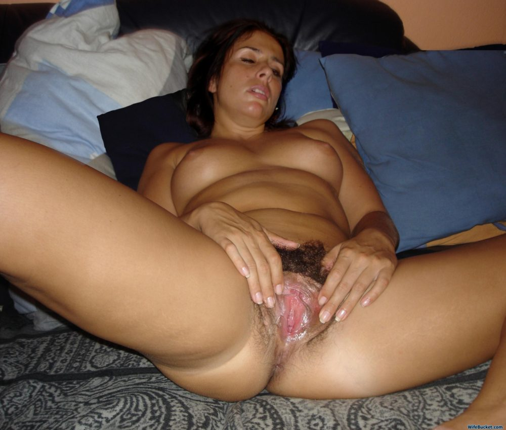 hairy pussy after sex