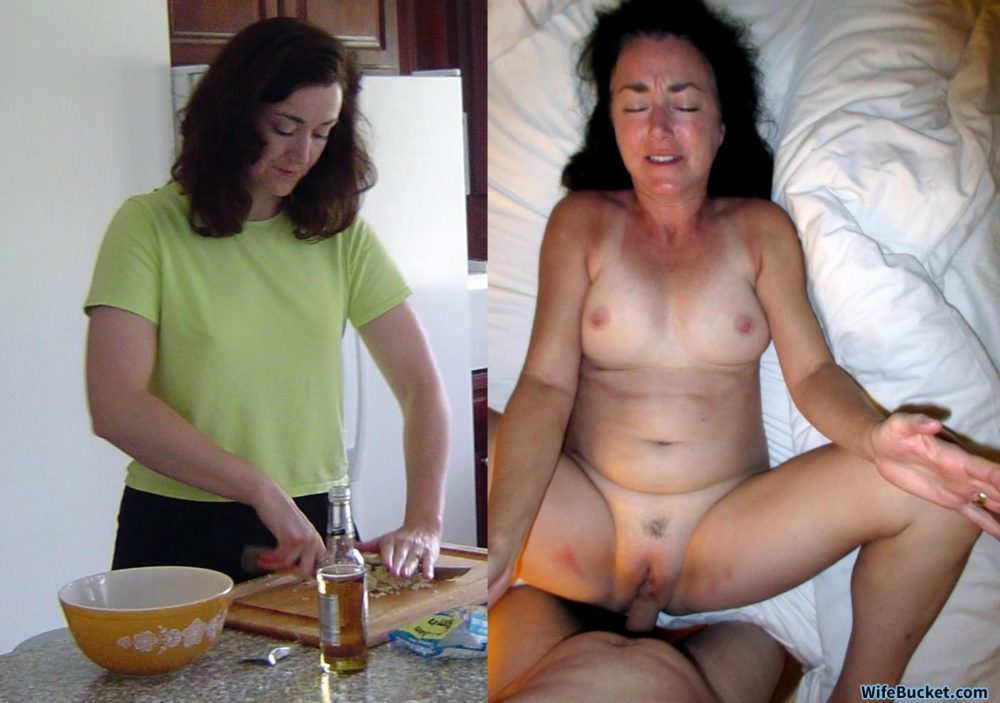 Mature wife before-after sex photos