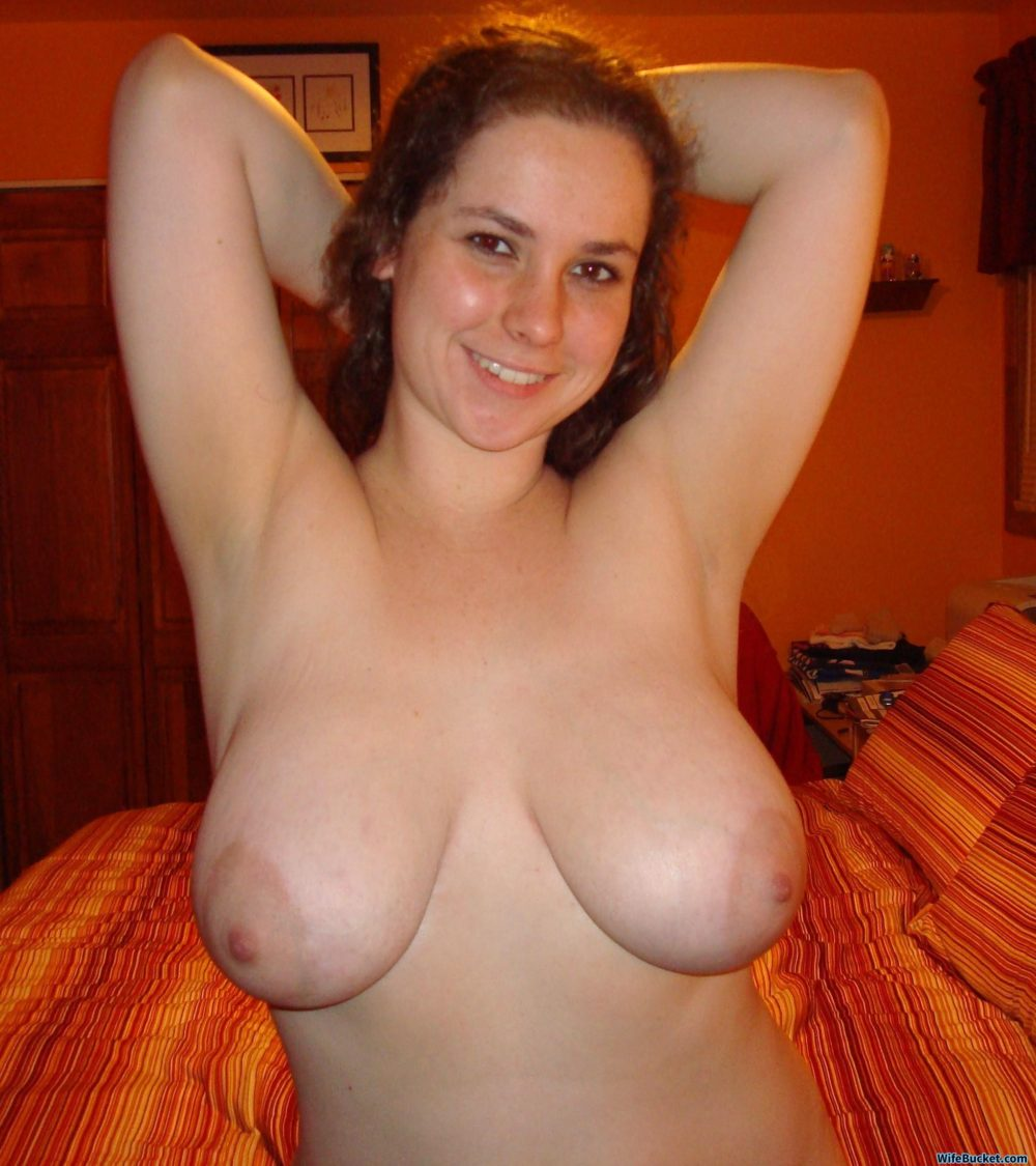 Nude pics of a hot wife with big tits