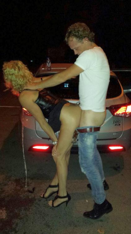 Homemade car sex