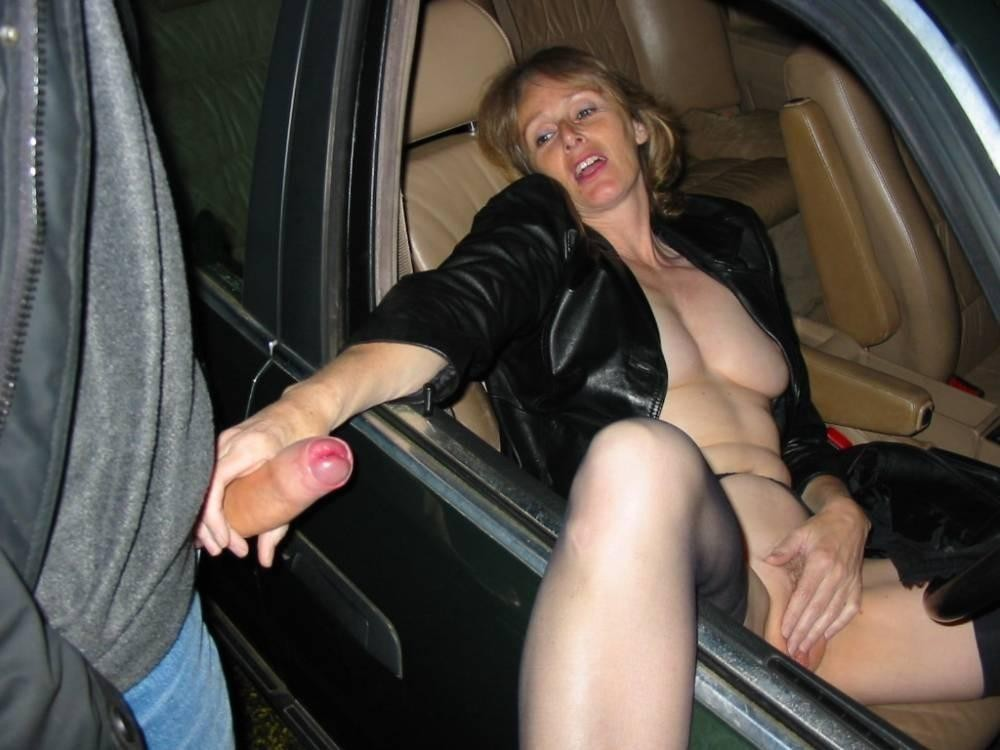Wife nude parking garage fucking