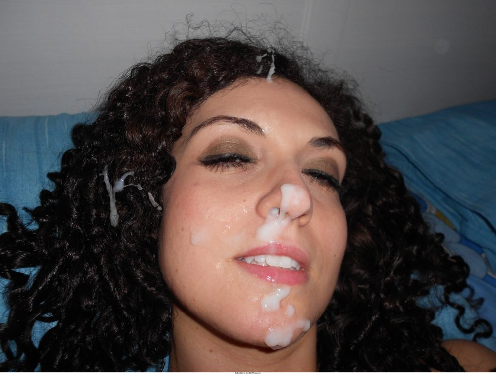 Best Amateur Facials From Cumonwives  Wifebucket -4286