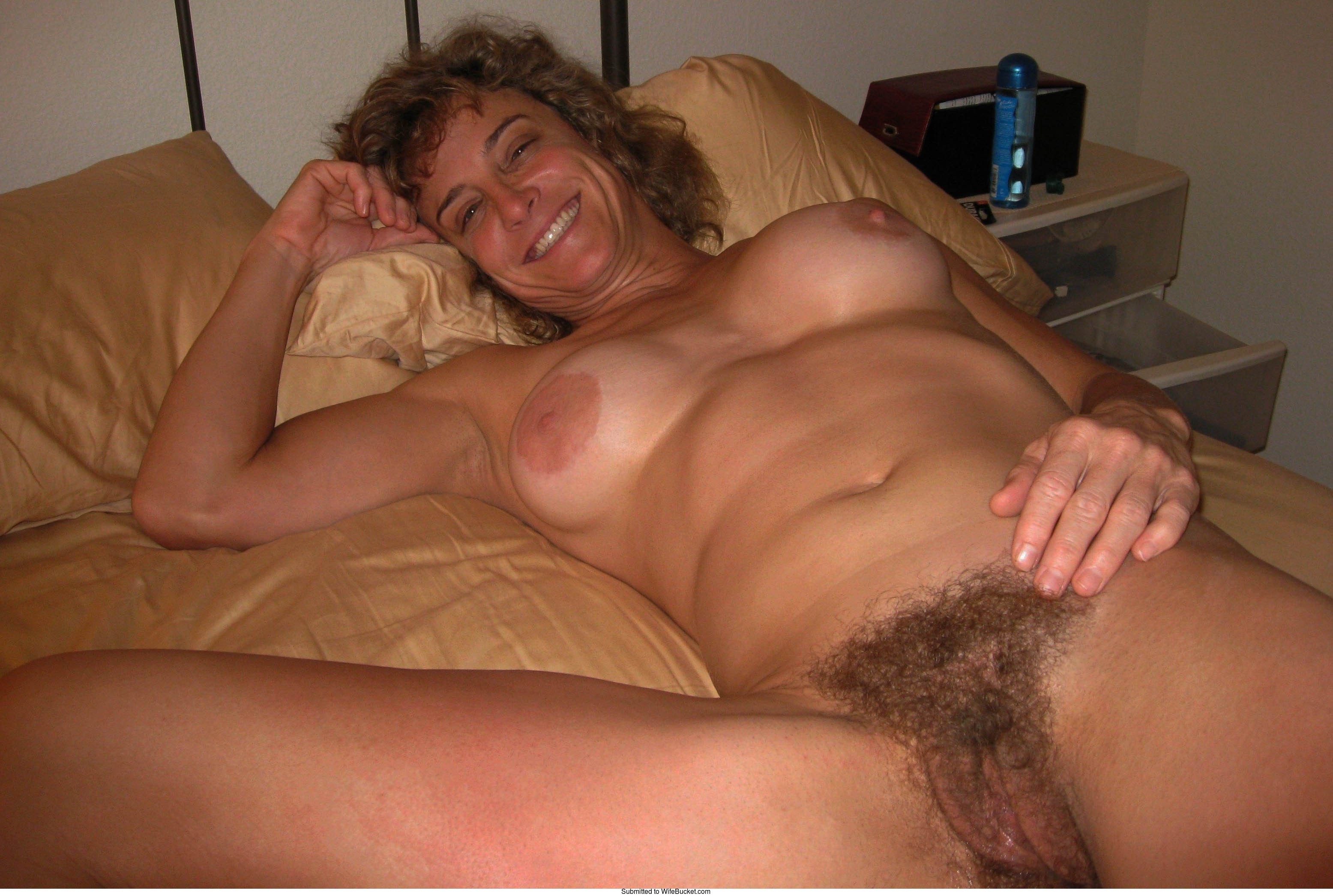 Hairy milf wife