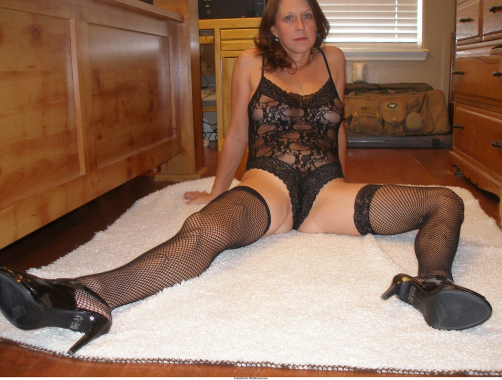 Sexy wife in lingerie