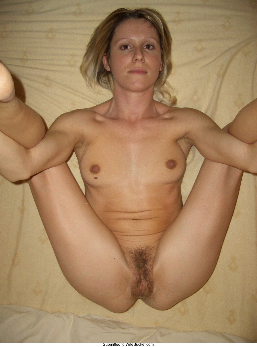 Frontal nude wife