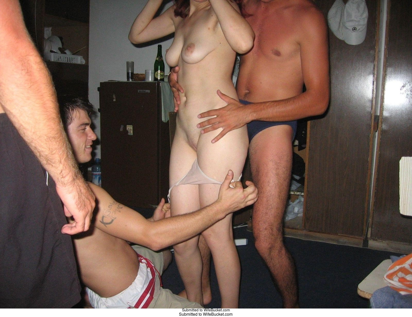 Think only! gangbang reality porn