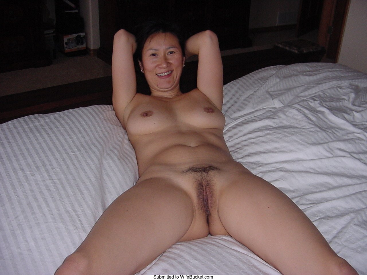 Nude korean wife
