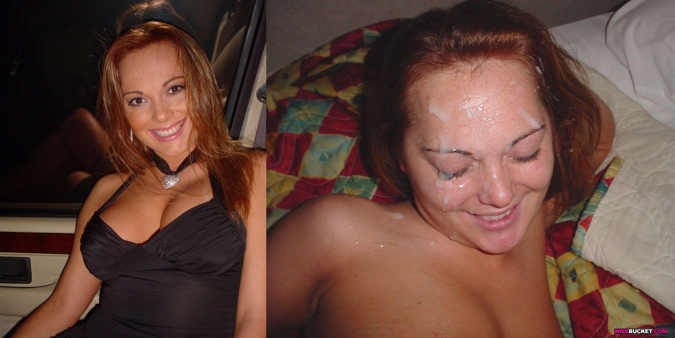 Mature slutwife gangbanged by 40 men