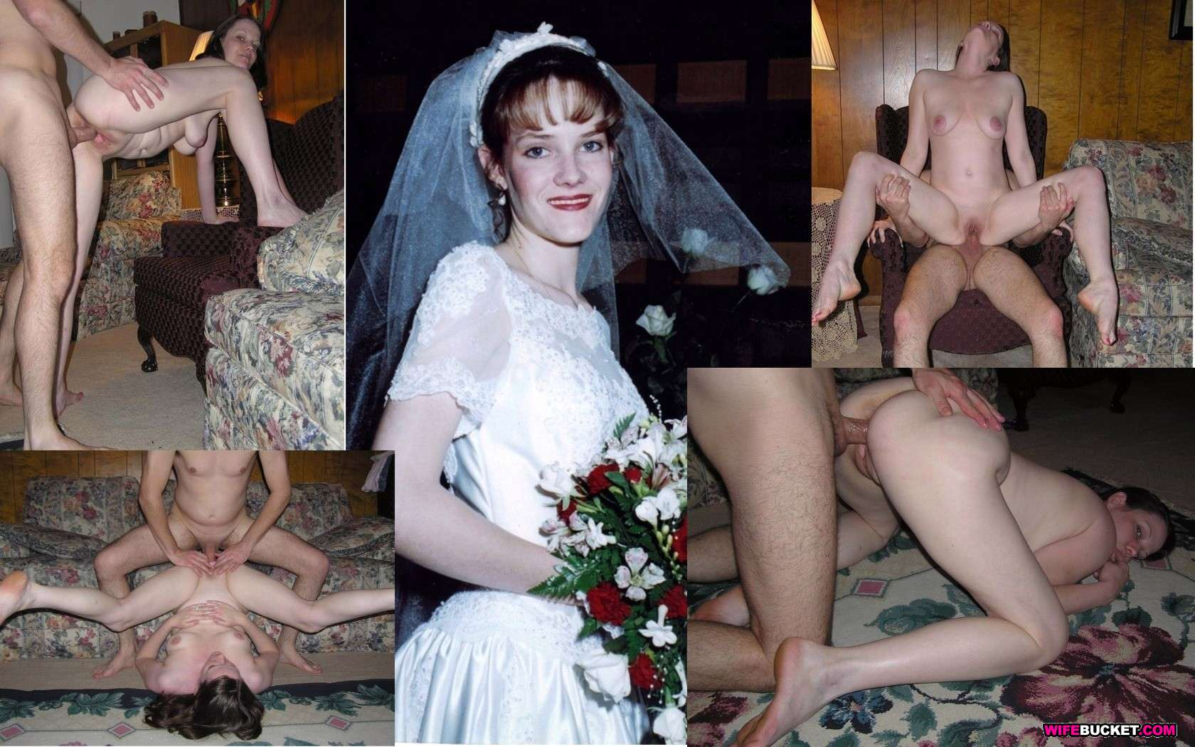 bride Real amateur wife