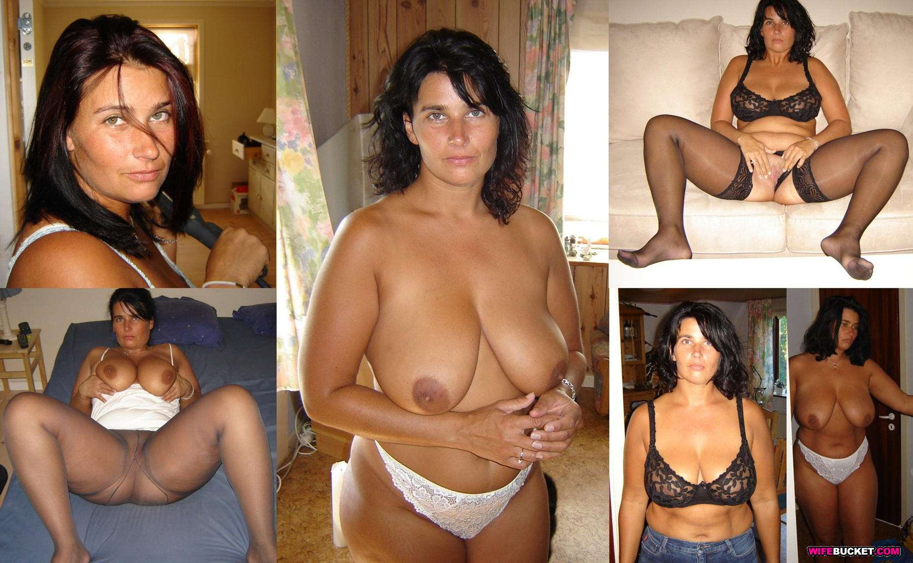 Amateur wives dressed undressed