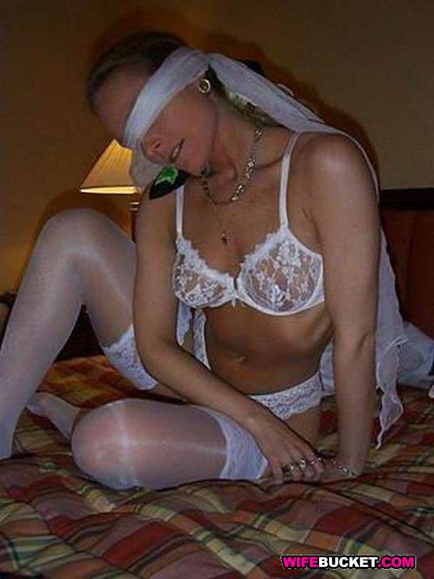 Wife real bride amateur
