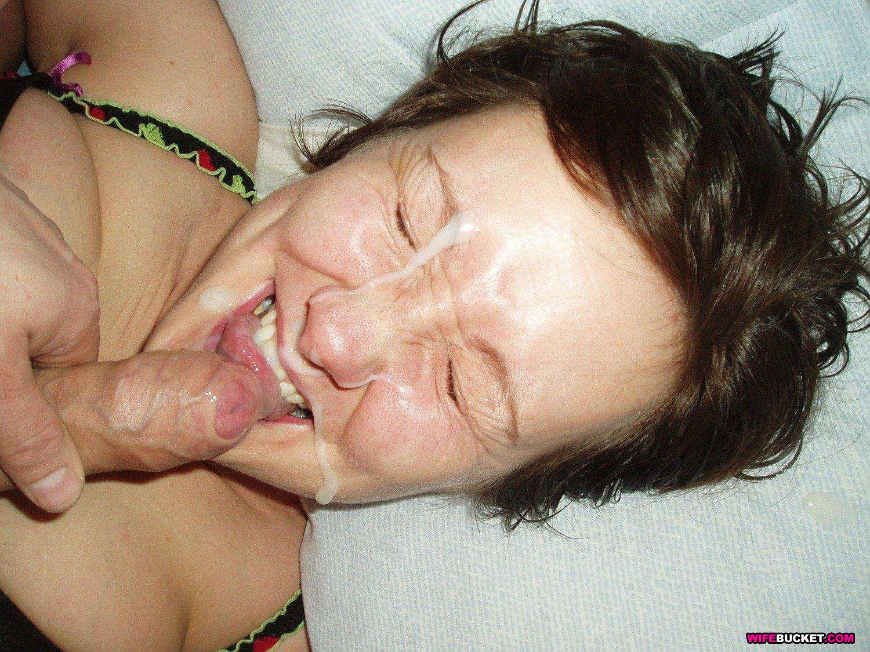 Фото сперма на жене жены в сперме, Фото от любителей обкончать лицо жены 1 фотография