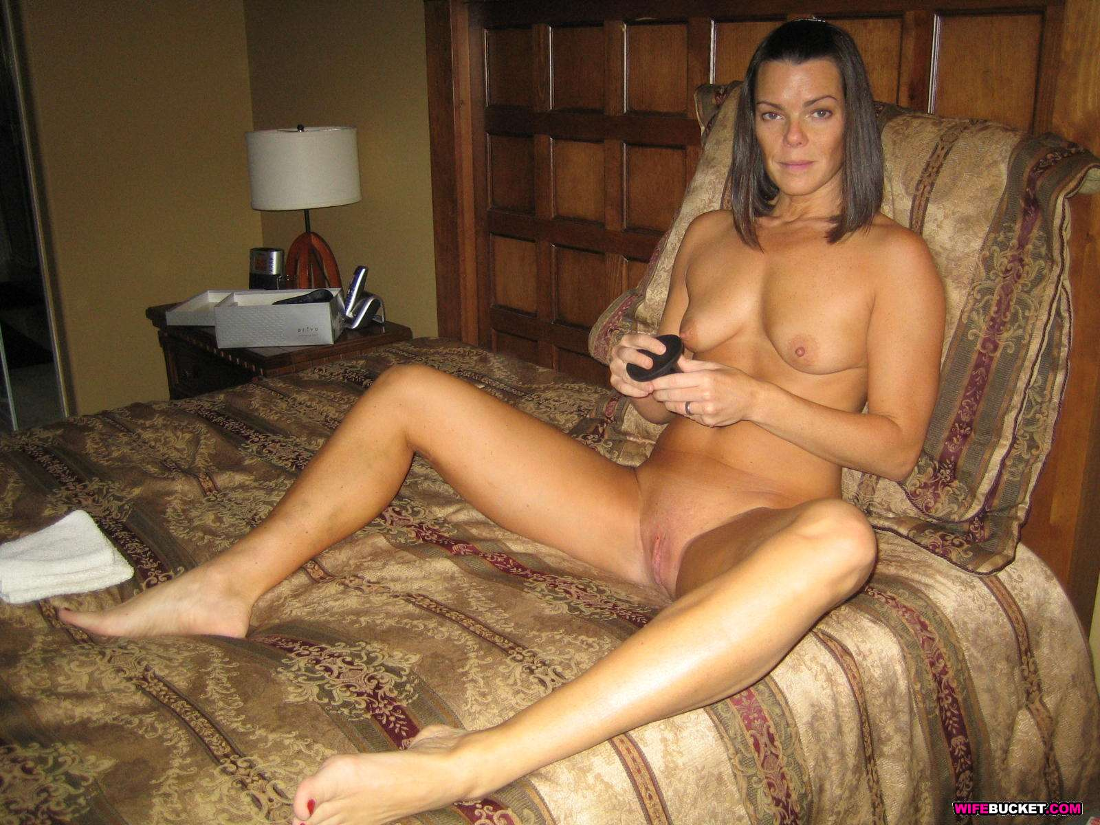 Wife at home naked