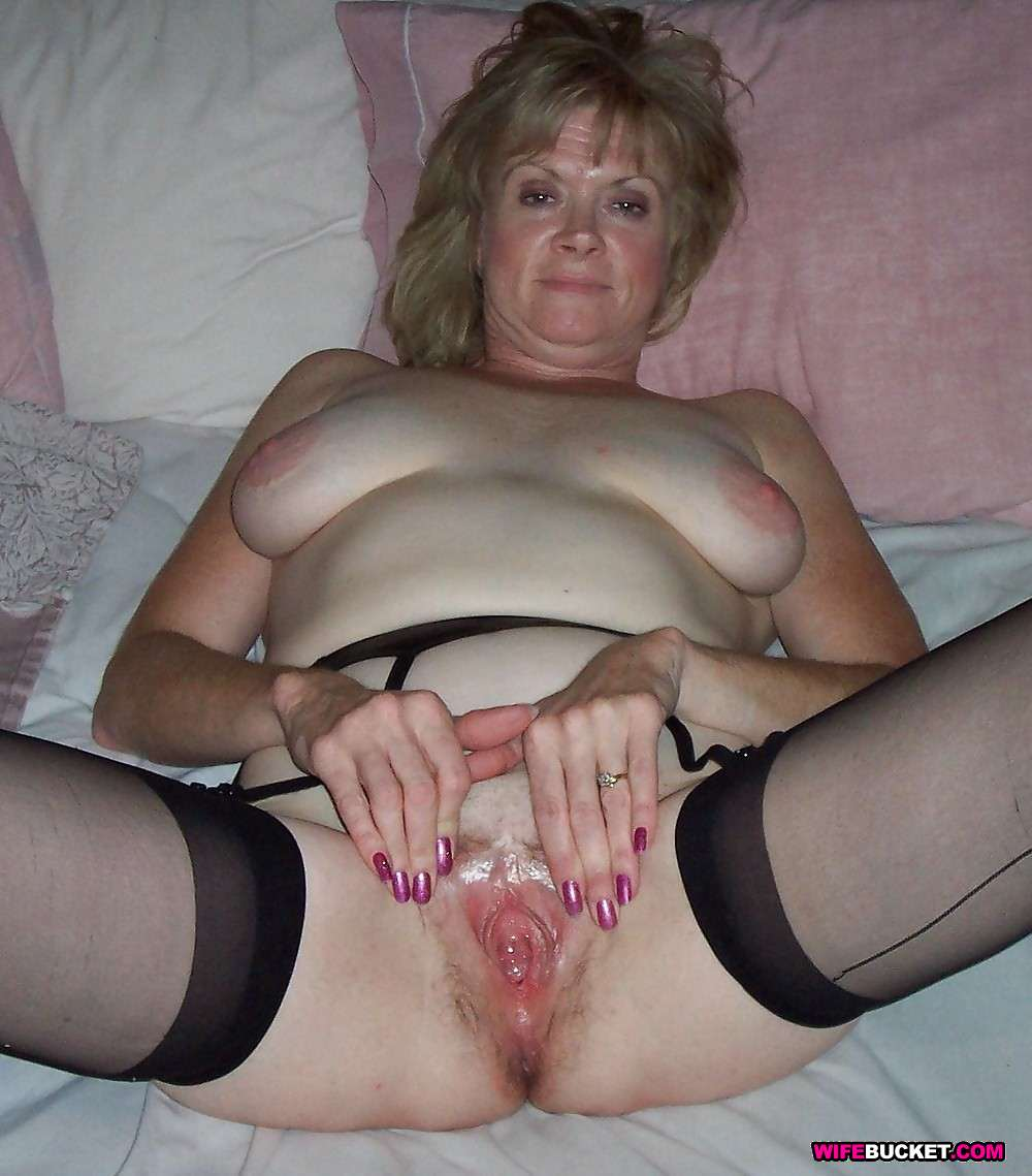 Just fucked wife pussy