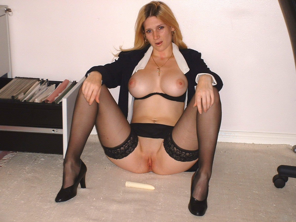 wife Amateur stockings milf