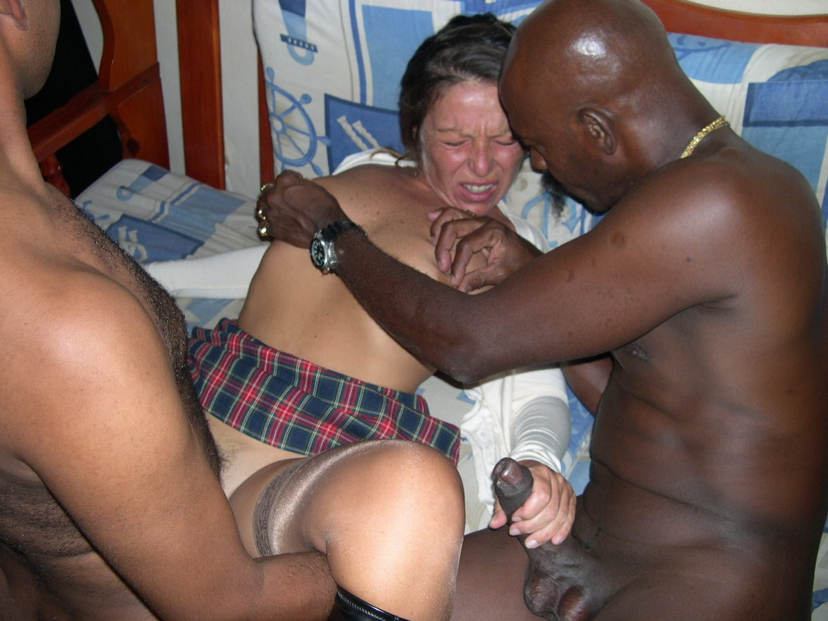 Mature white housewives black dick