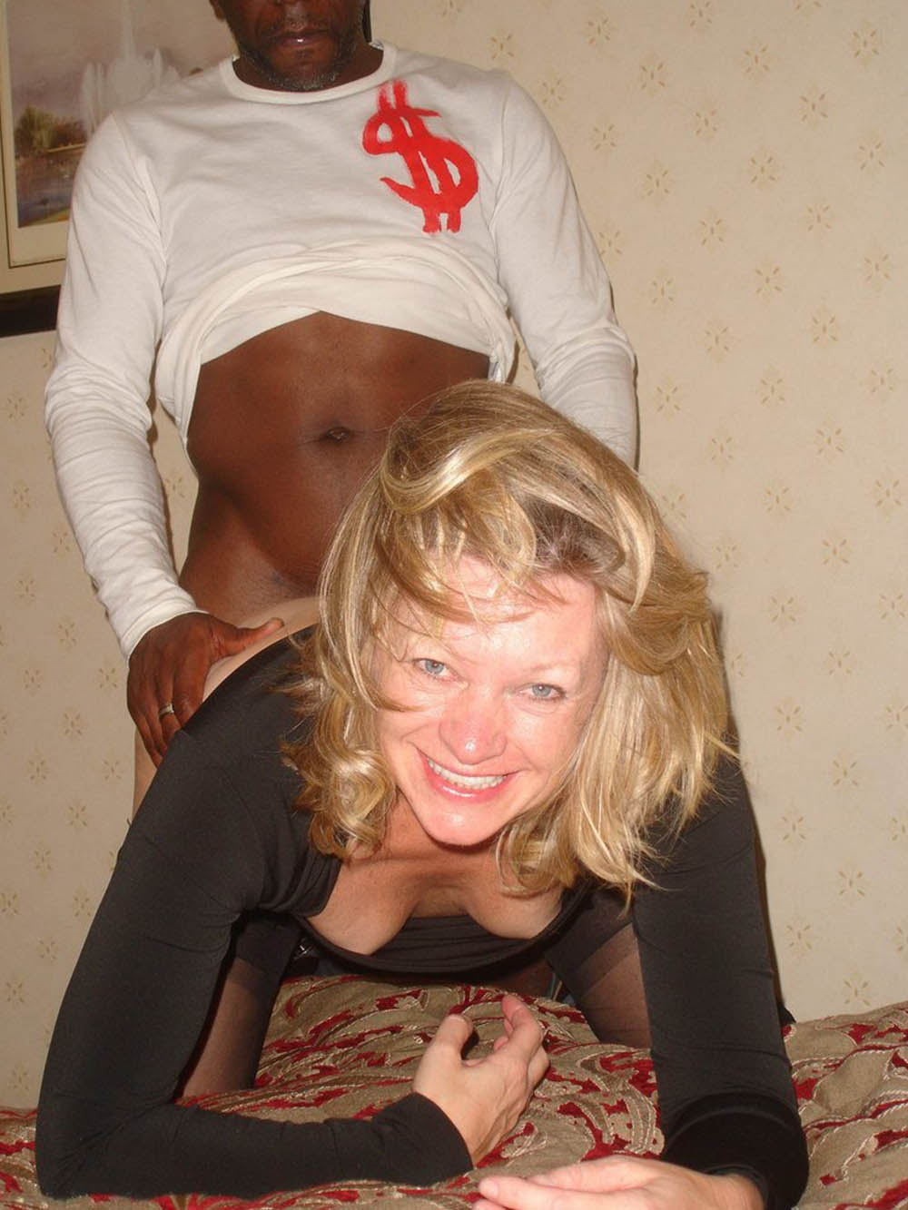 Cuckold milf fucked by hired black bull while sissy hubby ta 7