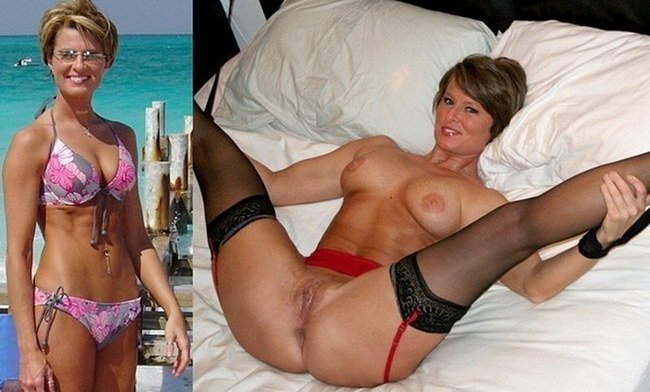 Have hit Milf nude wife before after