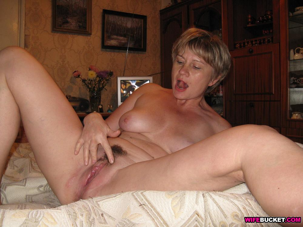 naked wife Hairy mature