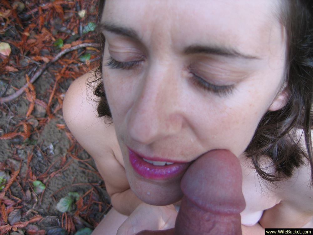 All Amateur wife blowjob outdoors You will