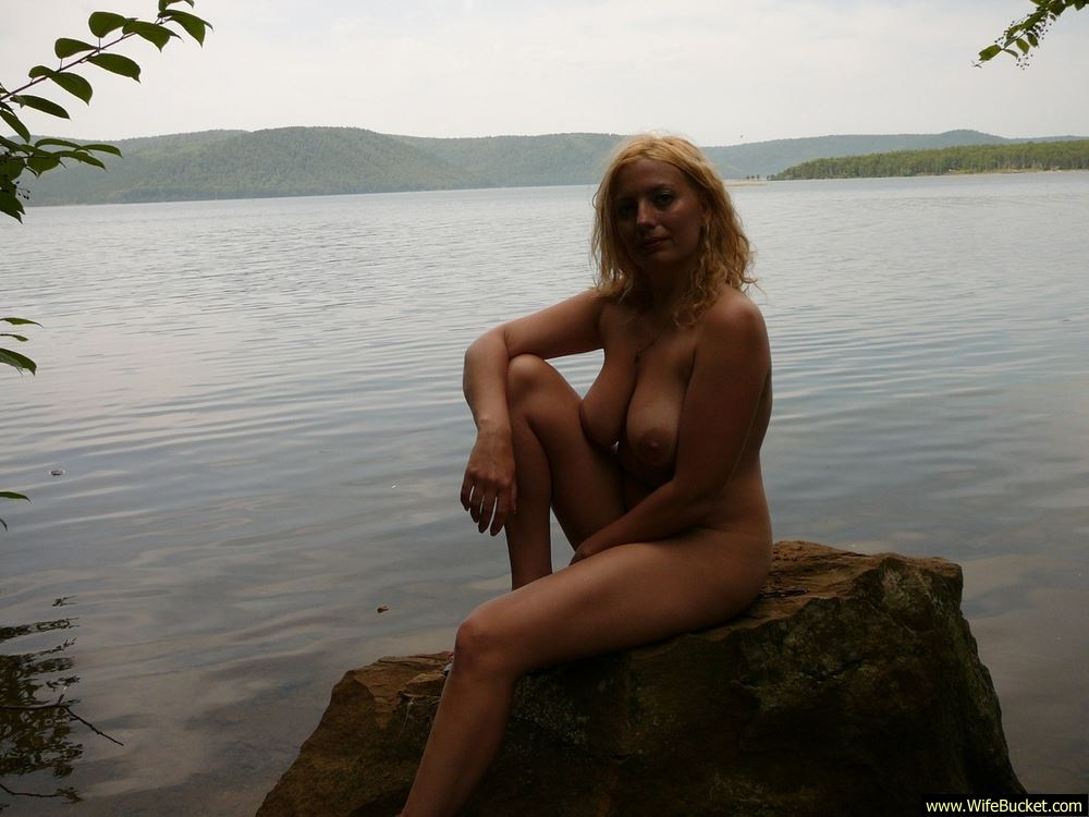 Amateur milf naked outdoors consider
