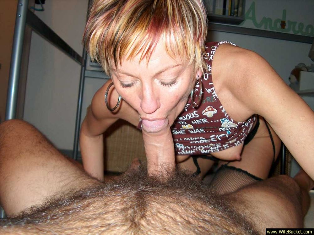 Husband eats cum bisex