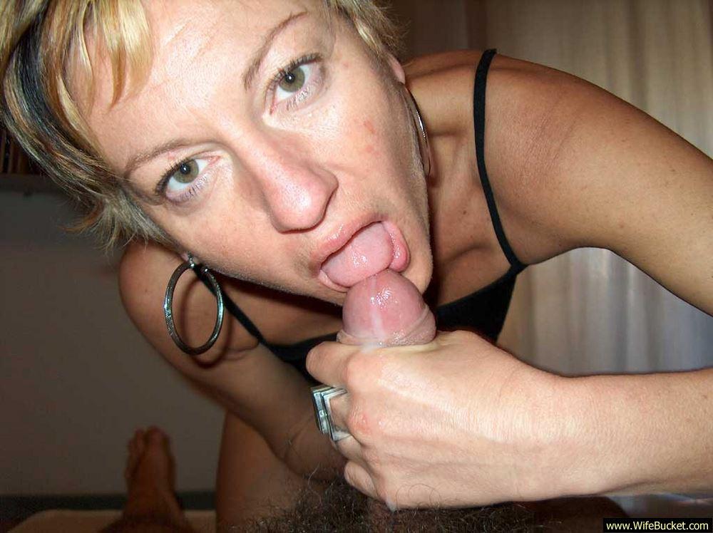 Loving wife blowjob