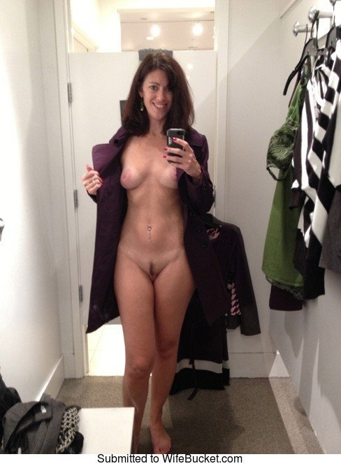 selfies nude Real wife