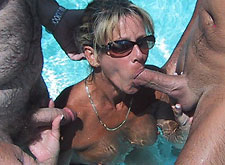drunk MILF blowjob in Las Vegas