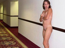 Naked Wife Kicked out of Hotel Room Naked