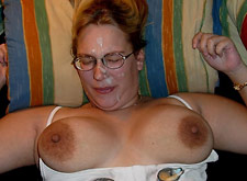 Chubby Older MILF Scared of Cum